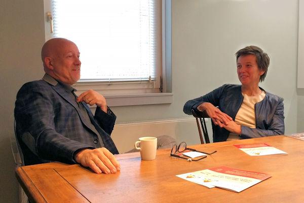 Fred Rommens en Marjo van Gennip